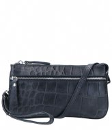 LouLou Essentiels Crossbody Clutch Vintage Croco Black (1)