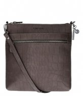 LouLou Essentiels Vintage Croco Dark Grey (002)