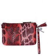 LouLou Essentiels Crossbody Clutch Serpentes red (32)