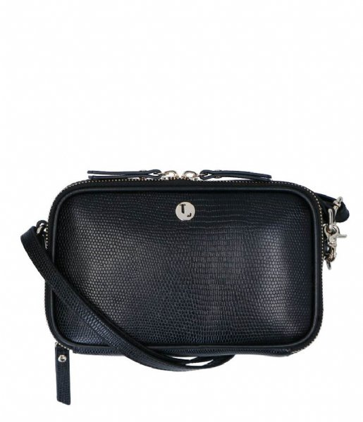 LouLou Essentiels Crossbodytas Crossbody  Lovely Lizard black (1)