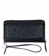 LouLou Essentiels Portemonnee Heart Breaker black (1)