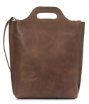 MYOMY-Handtassen-Carry Shopper-Bruin