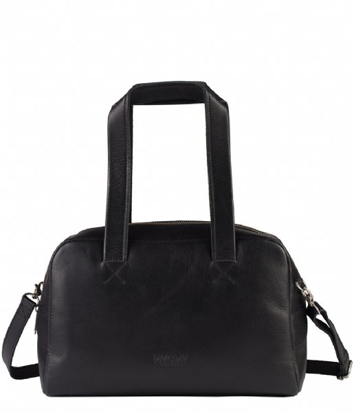MYOMY Handtas My Gym Bag Handbag Medium hunter waxy black (25751162)