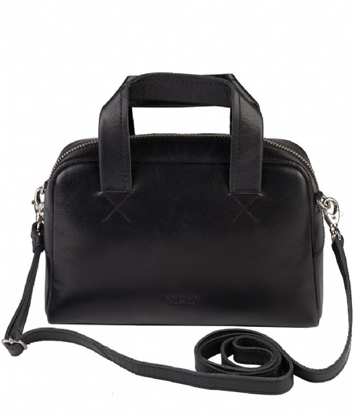 MYOMY Schoudertas My Gym Bag Mini hunter waxy black (25511162)