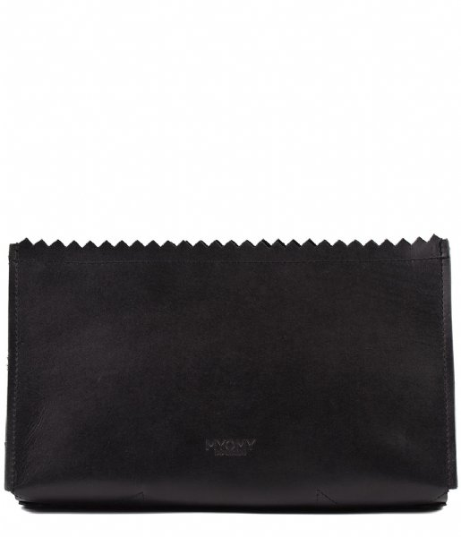 MYOMY Toilettas My Paper Bag Care Bag hunter waxy black (10371162)