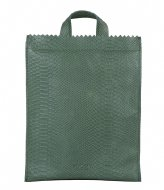 MYOMY My Paper Bag Back Bag Medium anaconda sea green (10893049)