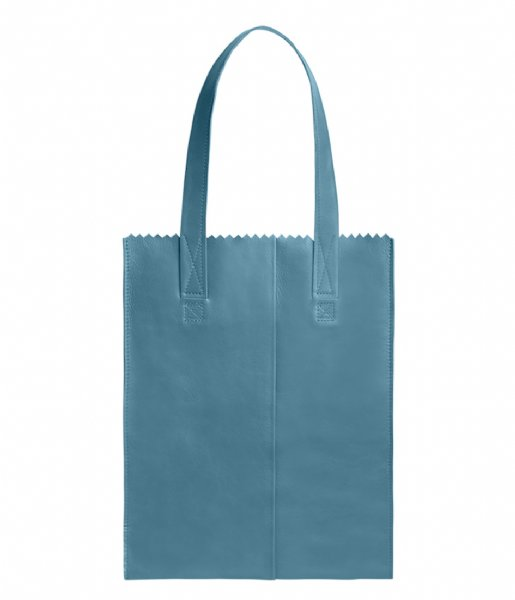 MYOMY Schoudertas My Paper Bag Long handle zip Petrol (1027-83)