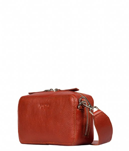 MYOMY Crossbodytas My Boxy Bag Camera sevilla cognac (1366-6045B)