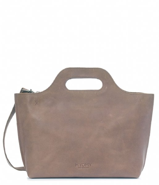 MYOMY Handtas Carry Handbag hunter taupe (80081381)
