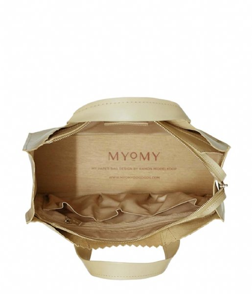MYOMY Schoudertas My Paper Bag Handbag Crossbody sand (1067-80)