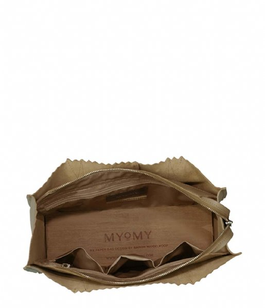 MYOMY Schoudertas MY PAPER BAG Handbag sand (1057-80)