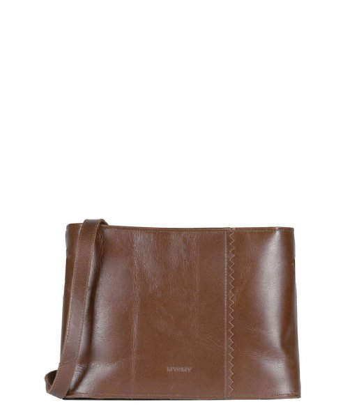 MYOMY Crossbodytas My Paper Bag Wrapped Crossbody hunter waxy original (2177-1166)