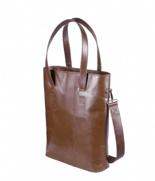 MYOMY Schoudertas My Paper Bag Wrapped Office hunter waxy original (2127-1166)
