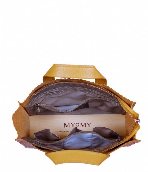MYOMY Schoudertas My Paper Bag Handbag Crossbody seville ocher (1067-55)