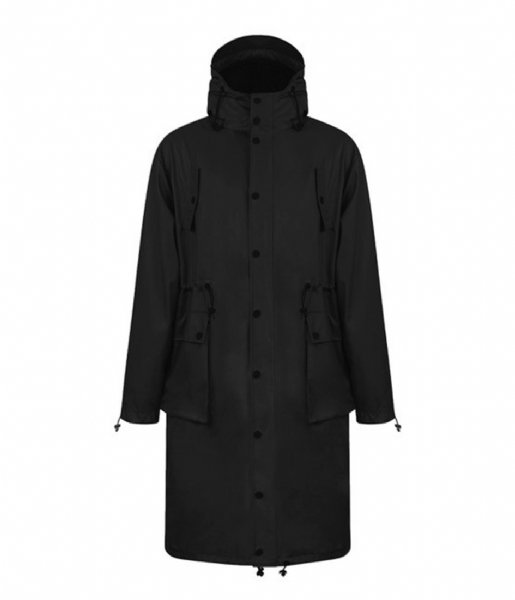 Maium Regenjas Maium Parka Light Weight black
