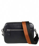 Markberg Elea Crossbody Bag Grain black chestnut