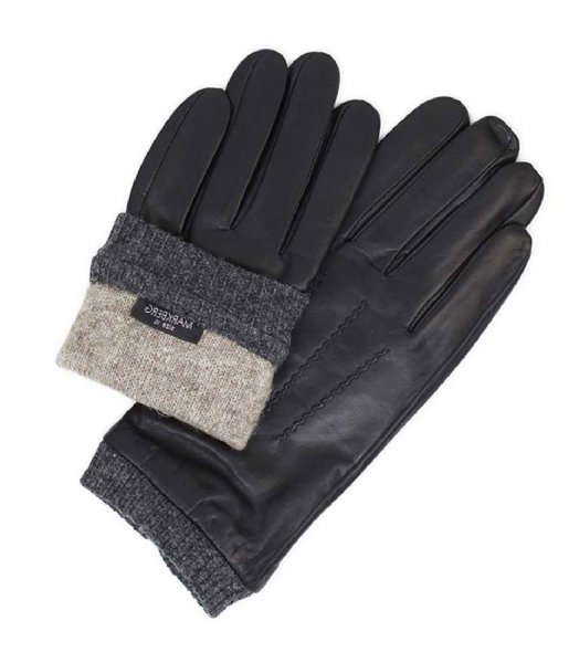 Markberg Handschoenen Louis Glove black grey