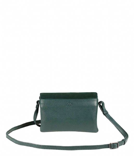 Markberg Crossbodytas Rayna Crossbody Bag Suede Mix dark green
