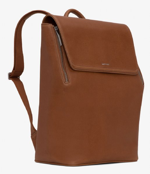 Matt & Nat Laptop rugzak Fabi Vintage Backpack 13 Inch chili