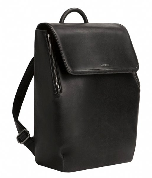 Matt & Nat Laptop rugzak Fabi Vintage Backpack 13 Inch black