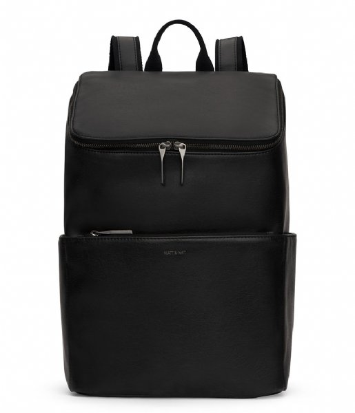 Matt & Nat Dagrugzak Dean Vintage Laptop Backpack black