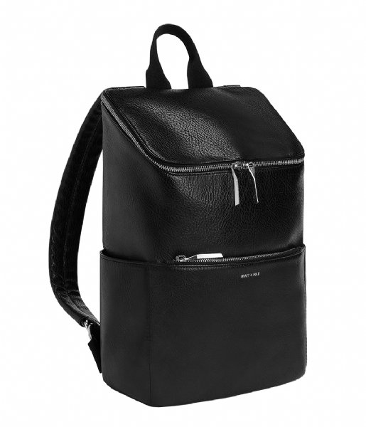 Matt & Nat Laptop rugzak Backpack Brave Dwell 13 Inch black