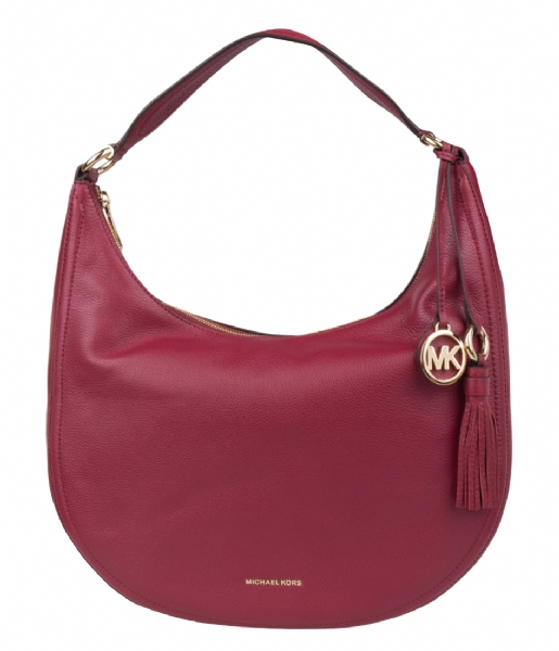 Mulberry Portemonnee Dames.Lydia Large Hobo Mulberry Gold Hardware Michael Kors The Little