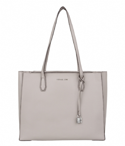 Mercer Large Tote cement & silver hardware Michael Kors