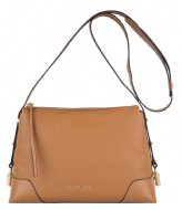 Michael Kors Medium Messenger acorn & gold colored hardware