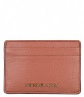 Michael Kors Card Holder sunset peach & gold colored hardware