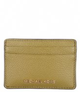 Michael Kors Card Holder pistachio & gold colored hardware