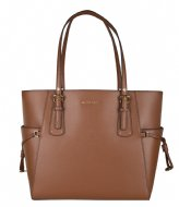 Michael Kors Ew Tote luggage & gold colored hardware