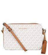 Michael Kors Medium Camera Bag vanilla & gold colored hardware