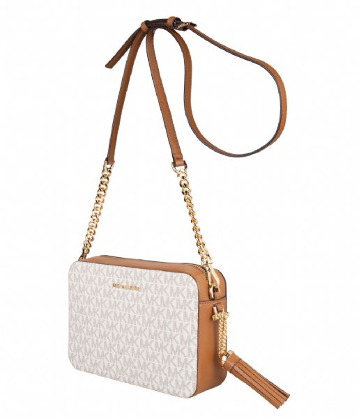 Michael Kors Crossbodytas Medium Camera Bag vanilla & gold colored hardware