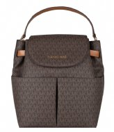 Michael Kors Large Backpack brown acorn & gold colored hardware