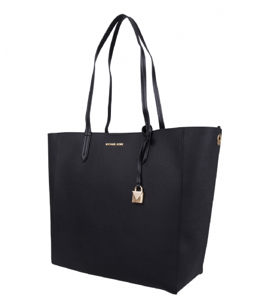 Penny Large Convertible Tote black & gold hardware Michael