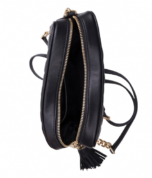 Michael Kors Crossbodytas Camera Bag black & gold colored hardware