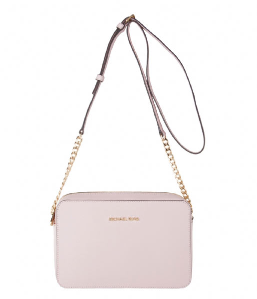 315913ac5fac Jet Set Travel Large EW Crossbody blossom & gold hardware Michael Kors |  The Little Green Bag