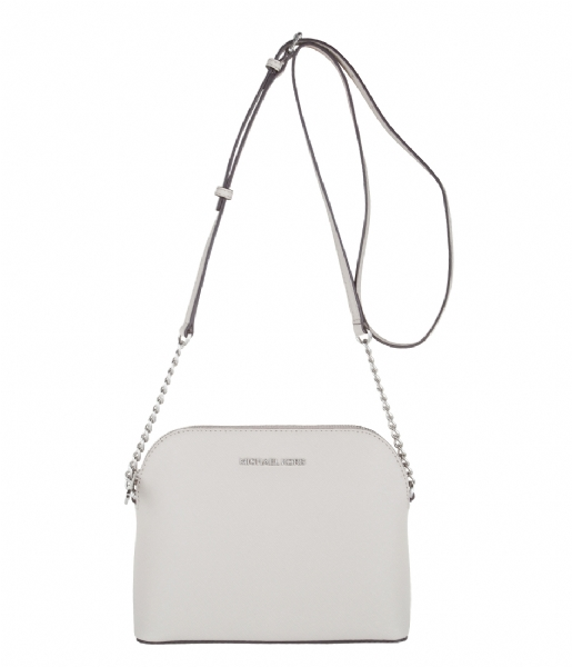 7cafce463b4 Cindy Large Dome Crossbody cement & silver hardware Michael Kors | The  Little Green Bag