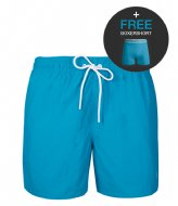 Muchachomalo Swimshort Solid Turquoise