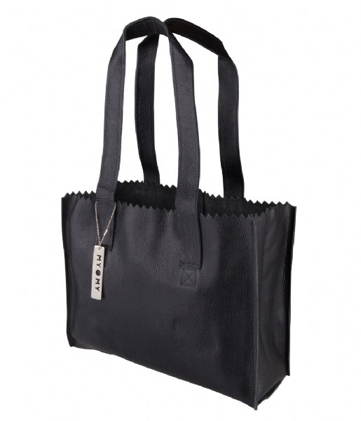 MYOMY Schoudertas MY PAPER BAG Handbag rambler black (10570631)