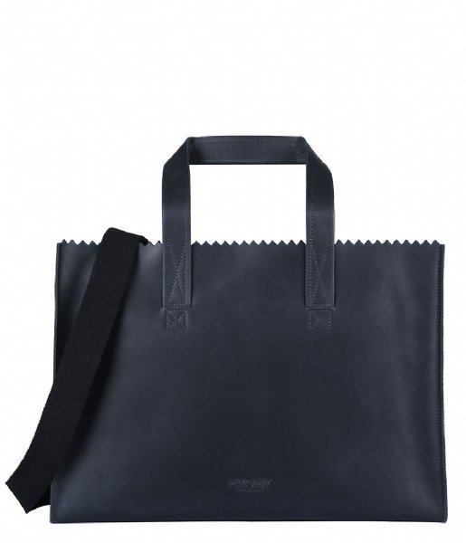 MYOMY Schoudertas My Paper Bag Baby off black (10361081)