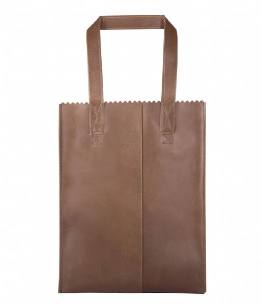 MYOMY Schoudertas My Paper Bag Long handle zip hunter original (10270001)