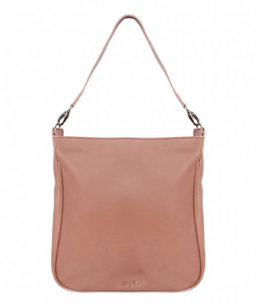 MyK Bags Schoudertas Bag Earth peach