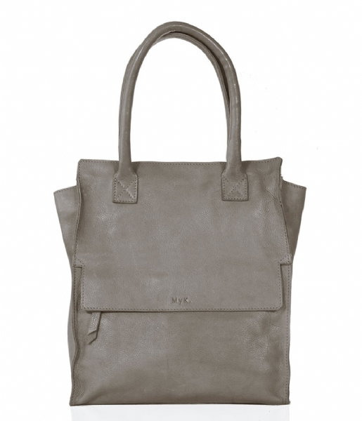 Bag Taupe Skyscraper Green Myk Little BagsThe nvwm80ON