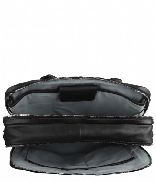 MyK Bags Laptop schoudertas Laptop Bag Focus 13 Inch black