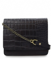 O My Bag Audrey Mini Chain eco classic black croco