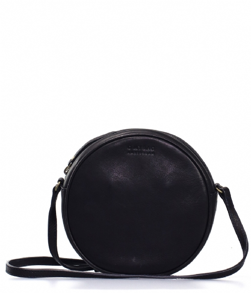 O My Bag Crossbodytas Luna Bag black soft grain