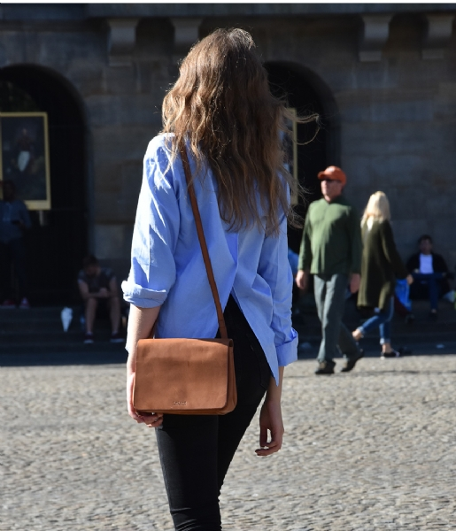 The Lucy eco classic camel O My Bag | The Little Green Bag
