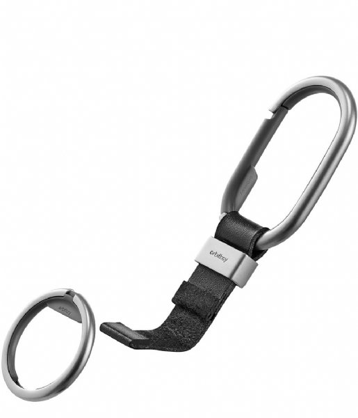 Orbitkey Sleutelhanger Orbitkey Clip Silver Colored black black